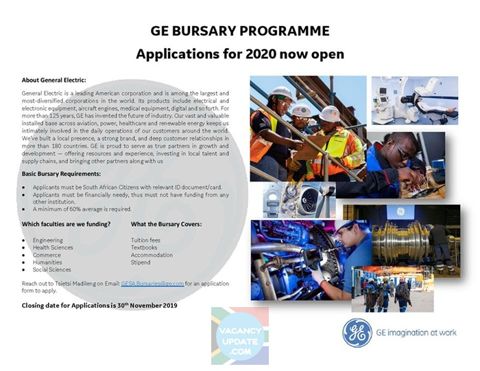 General Electric Bursary